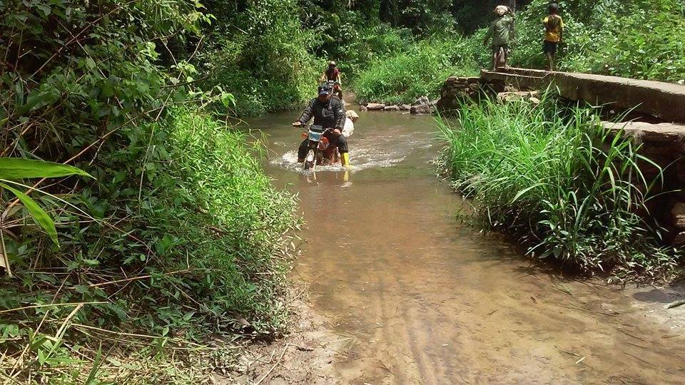 River Crossing in the Democratic Republic of the Congo by The RainShine Foundation